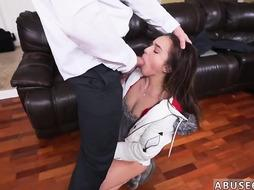 Lee stone punished her Girl Hard