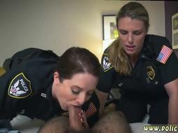 Thick black Guy Fucked by 2 Cops
