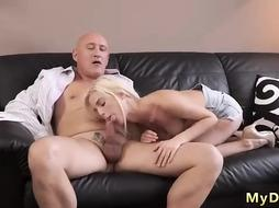 Sensual blonde is Fucking