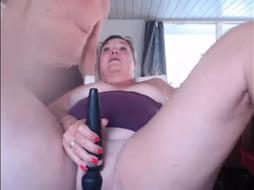 British Mature (56) Squirting Show In Kitchen