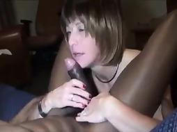 Amateur Older Milf With A Fat Cunt Rides Black Dick