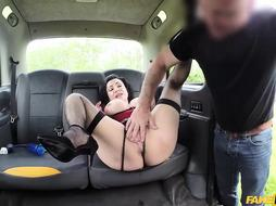 Nicole Dupapillon is getting nailed in the back of a car, up her tight ass