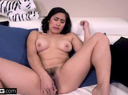 Mia Li is showing her cock- sucking skills, to a guy she is in love with