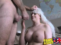Faux audition witnesses Web webcam woman tryout gonzo romp sesh