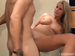 CZECH AMATEURS - ASTOUNDING ULTRA-KINKY BLOND WITH AMPLE FUNBAGS IN CZECH AMATEURS