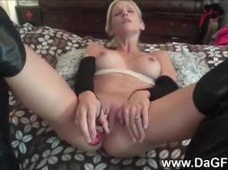 Wifey has a mouthfull