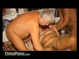 OmaPasS Grannies Toying with Fucktoys Compilation