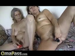 OmaPasS Grandmother First-Timer Orgy Footage Compilation