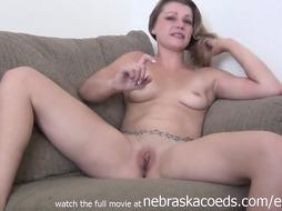 Molten Audition Sofa First-Ever Timer Undressing Down - PornGem