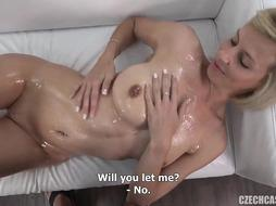 Lubricated Rump At Audition - PornGem