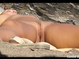 unexperienced Stunning Naturist Cougars Spycam Beach HD Vid - PornGem