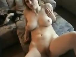 Youthful Duo Have Fun Bang On Sofa - PornGem