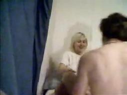 Homemade - brief haired blonde rails - PornGem