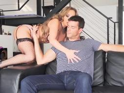 Milf got down and dirty with her lover