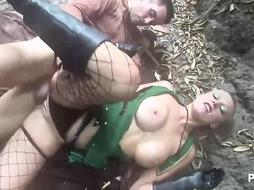 Hot women are orgying outdoor