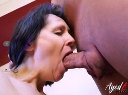 Horny woman is having hardcore sex
