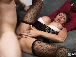 Gina is always in the mood for fucking
