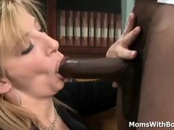 Sara got down and dirty with her black fuck toy