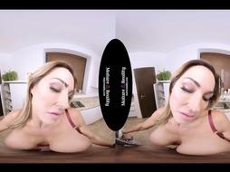 MatureReality - Aubrey Ebony Cougar from Da Spandex Hood