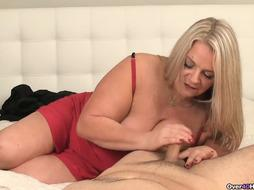 Jizm-greedy Cougars Got A Pulsing Fuckpole In Her Forearms