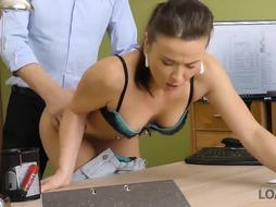 LOAN4K. Ultra-Kinky agent can help tastey thing if she unwraps for him
