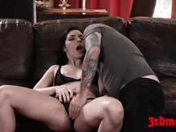 Marvelous succubus Keira Croft bashed with phat schlong