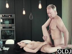 college-aged yo gal gets humped by her step father on her bday