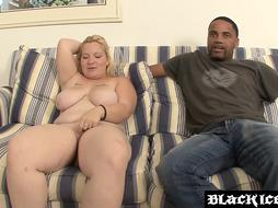 Jizm munching PLUS-SIZE Sonya Sinn porked by multiracial dicking