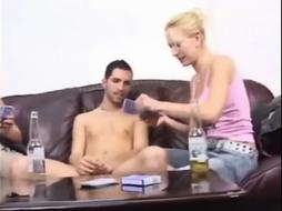 The penalty of a undress poker game PART 1