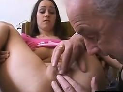 Senior weirdo ultra-kinky for some youthfull nubile labia