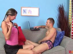 18videoz - Shantel - First-Ever anal invasion leads to a fine ejaculation