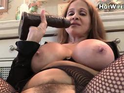 Mother HotWifeRio bj's on her sons-in-law rod and gobbles his jizz