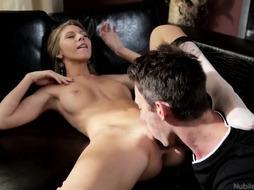 Super-Sexy Enjoy With Stylish Ash-Blonde