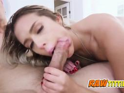 Fantastic Athena gets her tits toyed with before she takes meaty beef whistle - PornGem