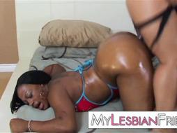 ebony rump all girl strap dildo ravage - PornGem