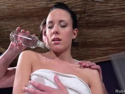 Dark-Haired bj's massagists humungous phat man rod - PornGem