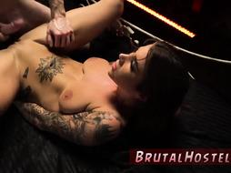 Bondage anal hook Excited young tourists Felicity