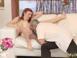Old man wanking xxx Unexpected experience with an