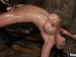 Stellar honey is into gonzo BONDAGE & DISCIPLINE delectations