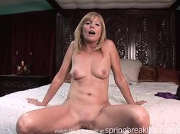 Cougar Lotions Up Bare Assets