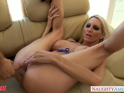 Huge-Chested blondie mummy Emma Starr gets pounded
