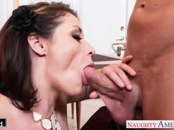Huge-Titted brown-haired Eva Notty gets plowed