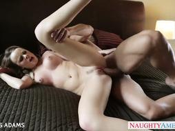 Gigantic titted blonde Alexis Adams taking a ample lollipop