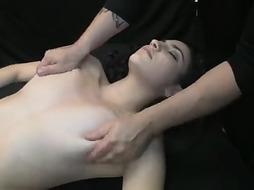 Pawed to dumping climaxes (Highlights of Rubdown 54)
