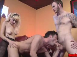 Meet Our Fresh Paramour CUCKOLDING FEMALE DOMINATION PEGGING JISM MUNCHING