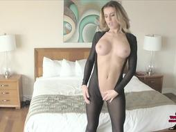 Randy Moore Castratrix FEMALE DOMINATION POINT OF VIEW CATSUIT HIGH-HEELED SHOES Jerk Off Instructions