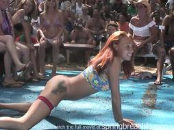 Moist Bathing Suit Compete