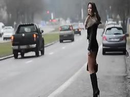 prostitute forever!! Moving my caboose in public on the street