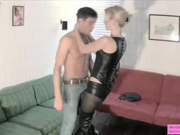 Mistress Spills Her Roomies Sack Of Babymakers TAUNTING KICKING BALLS