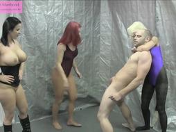 Hj College: Ballbust and Spunk on Stockings 101 Preview